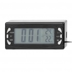 "2,6 ""Car / Home Indoor Outdoor Thermometer w / Wecker (2 x AG13 / DC 12 ~ 24V)"