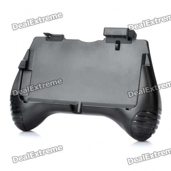 Rechargeable 3.7V 2600mAh Hand Grip Holder for Nintendo 3DS - Black