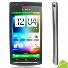 "X18i Android 2.3 WCDMA TV Smartphone w/ 4.1"" Capacitive, Dual SIM, Wi-Fi and GPS - Black"