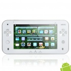 "JXD S7100 Android 2.2 7.0 ""LCD Resistive Spiel Consol Tablet w / TF / Wi-Fi / Kamera - Weiß + Silber"