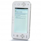 "JXD S7100 Android 2.2 7.0"" LCD Resistive Game Consol Tablet w/ TF / Wi-Fi / Camera - White + Silver"