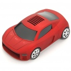 Car Model Style Speed Radar/Laser Detector - Red