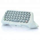 Awesome Controller Style Chatpad Keyboard for Xbox 360 (White + Grey)