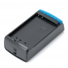 NOHON Compact Battery Charger for HTC 7 Trophy T8686 + More - Black (2-Flat-Pin Plug)