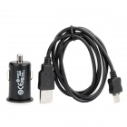 Car Charger / Adapter for Samsung Galaxy R / i9220 + More with USB Cable (DC 12V)