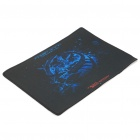 Cool Rubber Mouse Pad Mat - Black + Blue