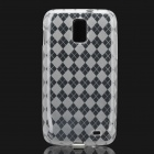 Protective TPU Back Case for Samsung Galaxy i727 - Transparent White