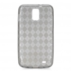 Protective TPU Back Case for Samsung Galaxy i727 - Transparent Grey