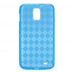 Protective TPU Back Case for Samsung Galaxy i727 - Transparent Blue