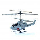 iPhone/Android Controlled Rechargeable 3-CH IR Infrared RC Helicopter (Grey + Black)