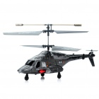 iPhone/Android Controlled Rechargeable 3-CH IR Infrared RC Helicopter (Dark Silver Grey)