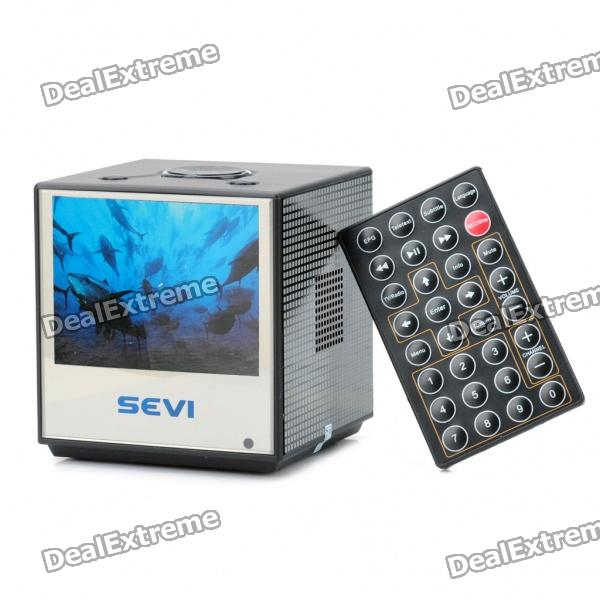 "Mini 3.5"" LCD DVB-T Digital Television w/ FM / TF - Black"