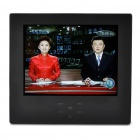 "8.0"" LCD DVB-T Digital Television w/ FM / TF - Black"