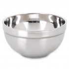 Stainless Steel Double Layer Wärmedämmung Bowl - Silver (300ml)