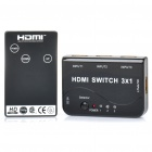1080P HDMI 1.4 Switch w/ Remote Controller (3-In / 1-Out)
