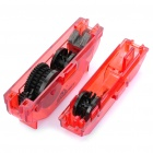 Bike Chain Cleaner Block Bicycle Wash Kit Tool - Random Color (Size L)