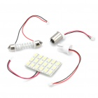 T10 / SV85 / BA9S 9W 12000K 720-Lumen 18-5630 SMD LED White Light Car Indoor Lamp (DC 12V)