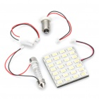 T10 / SV85 / BA9S 14W 12000K 1120-Lumen 28-5630 SMD LED White Light Car Indoor Lamp (DC 12V)