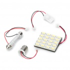 T10 / SV85 / BA9S 10W 12000K 800-Lumen 20-5630 SMD LED White Light Car Indoor Lamp (DC 12V)