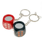 Magical 5-Dice Keychain - Doubles as a Mirror (Assorted Colors 2-Pack)