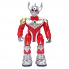 Ultraman Shaped Laufroboter Toy w / Sound & Lighting Effects (2 x AA)