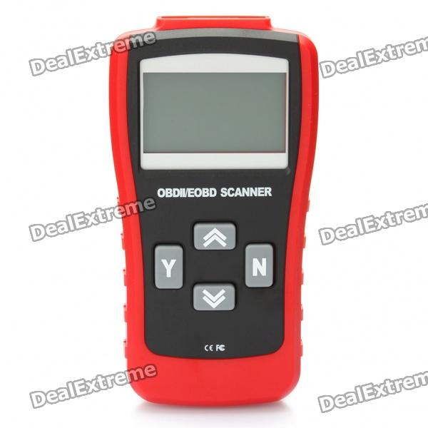 2.8 LCD ABS MaxScan MS500 CAN-BUS/OBDII Code Reader - Red + Black excel v1 5 mini elm327 obd2 obd ii bluetooth can bus