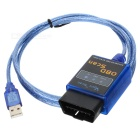ELM327 USB Vehicle OBD Scan Tool - Blue