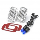 Universal 5W Blue Light Side Marker Halogen Lamps for Car (DC 12V / Pair)