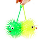 Glow-in-the-Dark Soft Urchin Stress Relievers (2-Pack/Large)