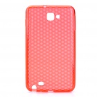 Protective ABS Back Case for Samsung i9220 / N7000 - Red