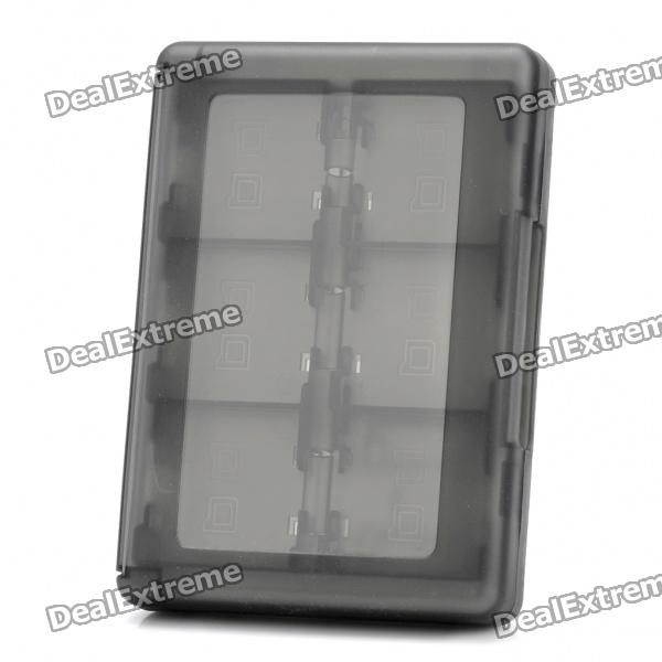 28-in-1 Protective Game Card Cartridge Case for Nintendo 3DS