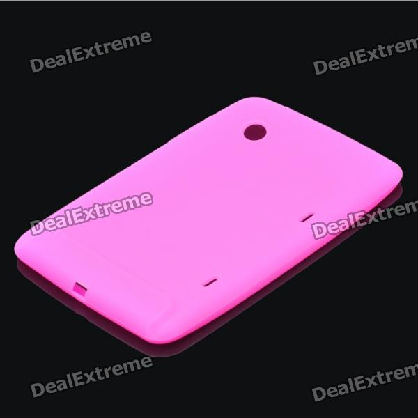 Protective Silicone Back Case for HTC Flyer (Random Color)