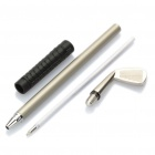 Creative Golf Club Style Ballpoint Pens Set (3-Piece Pack)