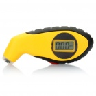 "1"" LCD Digital Tire Pressure Gauge - Yellow"