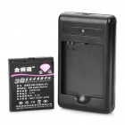 Replacement BL-6F 3.7V 2300mAh Battery w/ Charger for Nokia N78 / N79 / N95 / 6788