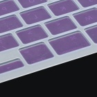 Protective Silicone Keyboard Cover for Apple Macbook Pro / Air - Purple