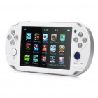 "4.3"" Screen Somatic Game Console Media Player w/ 300KP Camera / AV-Out / TF (4GB)"