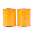 Price Labels for Dual-Line Price Tag Gun - Orange (10 Rolls)