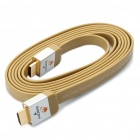 Designer's 1080P 3D HDMI V1.4 Male to Male Flat Connection Cable (200cm)