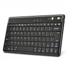Wiederaufladbare 2,4-GHz-Bluetooth V3.0 Wireless-83-Key Keyboard - Black