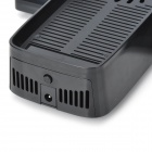 USB Powered Cooling Fan Console Stand with Controller Storage for Xbox 360 Slim