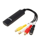 EasyCAP USB 2.0 Audio/Video Capture/Surveillance Dongle
