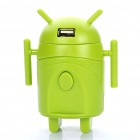 Android Robot Stil Universal Travel AC Power Adapter Ladegerät mit USB-Port (AU / UK / US / EU)