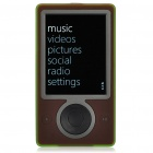 "Genuine Zune 3,0 ""LCD MP4 Player w / WiFi / FM - Brown (30 GB / Refurbished)"