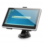 "7.0"" Touch Screen WinCE 5.0 GPS Navigator with FM / TF / Internal 4GB North America Map - Black"