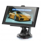 "5.0"" Touch Screen WinCE 5.0 GPS Navigator with FM / TF / Internal 4GB North America Map (Black)"