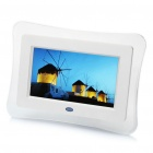 "7"" TFT LCD Digital Photo Frame w/ Remote Controller / SD / AV-OUT / USB (800 x 480)"