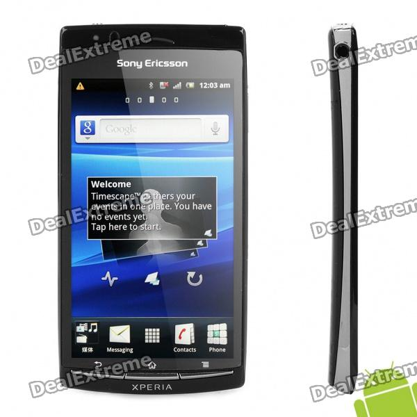 "Sony Ericsson LT18i Arc S Android 2.3 WCDMA Smartphone w/ 4.2"" Capacitive, Wi-Fi and GPS - Black"