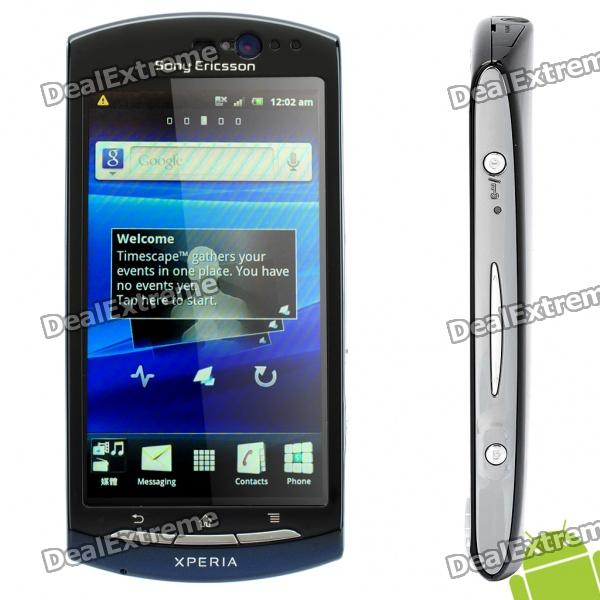 "Sony Ericsson Mt15i Neo Android 2.3 WCDMA Smartphone w/ 3.7"" Capacitive, Wi-Fi and GPS - Blue"
