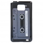 Magnetic Tape Pattern Protective PC Back Case for Samsung i9100